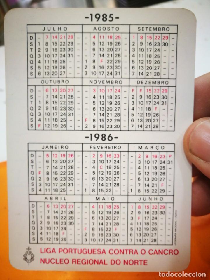 Coleccionismo Calendarios: Calendario EXAME DO SEIO 1985 - Foto 2 - 168684380