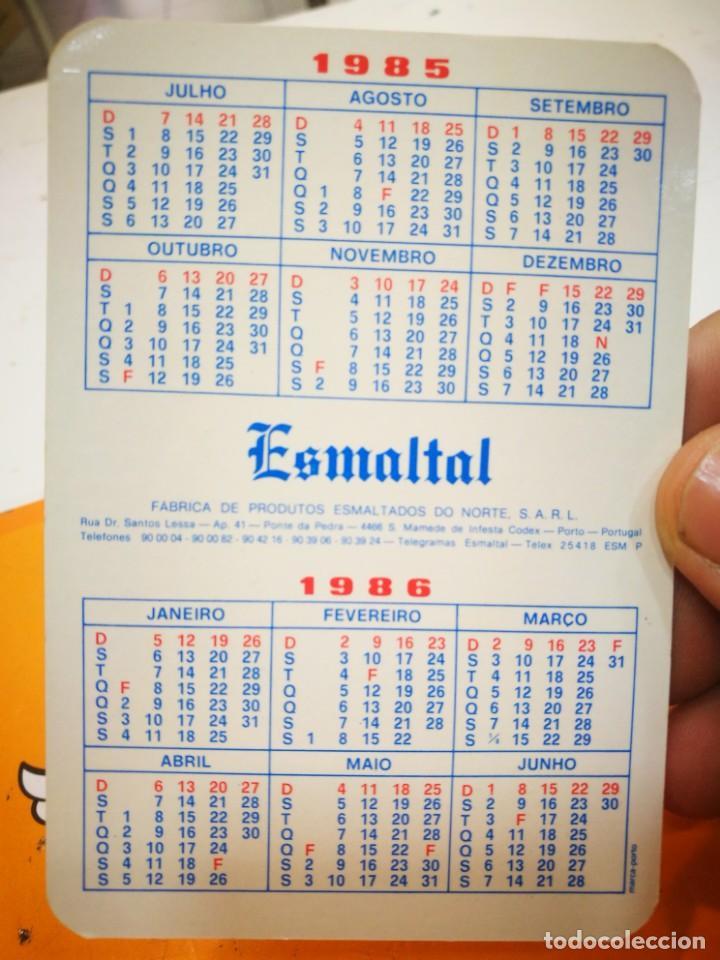 Coleccionismo Calendarios: Calendario ESMALTAL 1985 - Foto 2 - 168684984