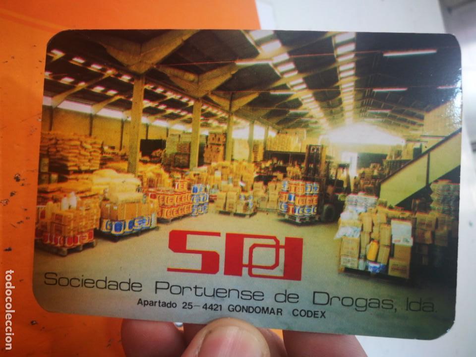 CALENDARIO SPD SOCIEDADE PORTUENSE DE DROGAS 1985 (Coleccionismo - Calendarios)