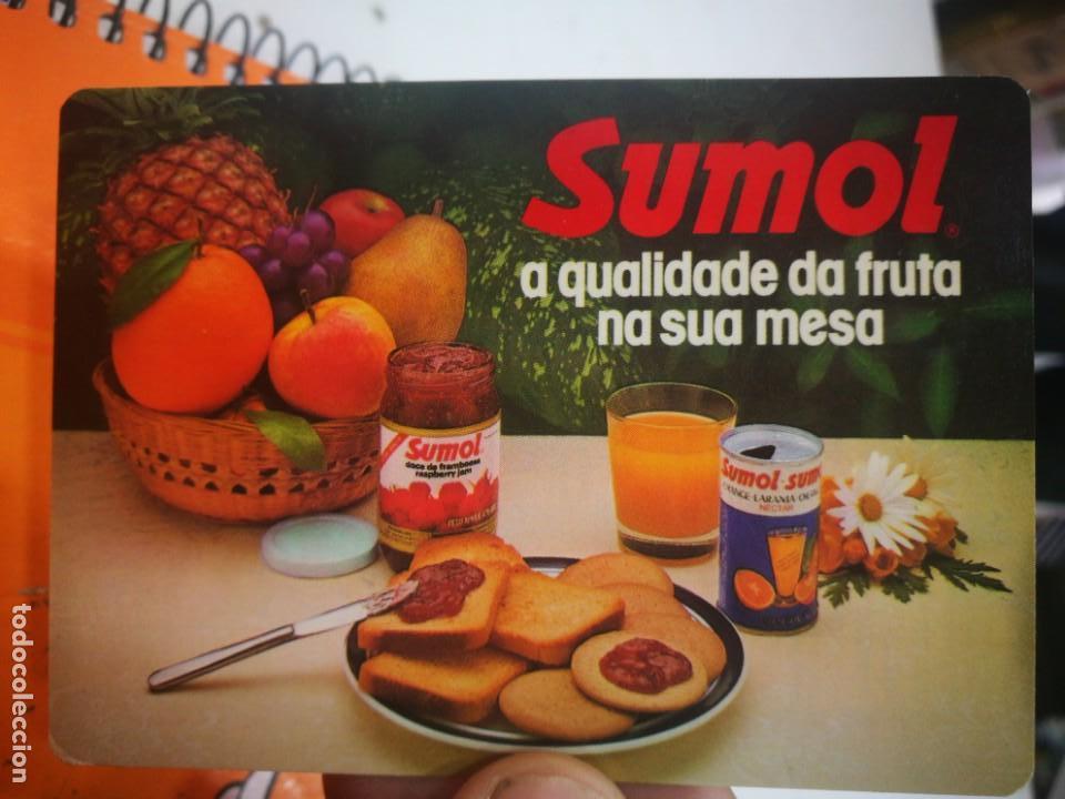 CALENDARIO SUMOL 1985 (Coleccionismo - Calendarios)