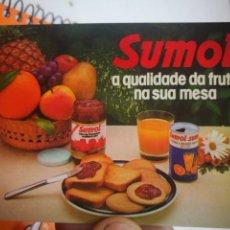 Coleccionismo Calendarios: CALENDARIO SUMOL 1985. Lote 168692496