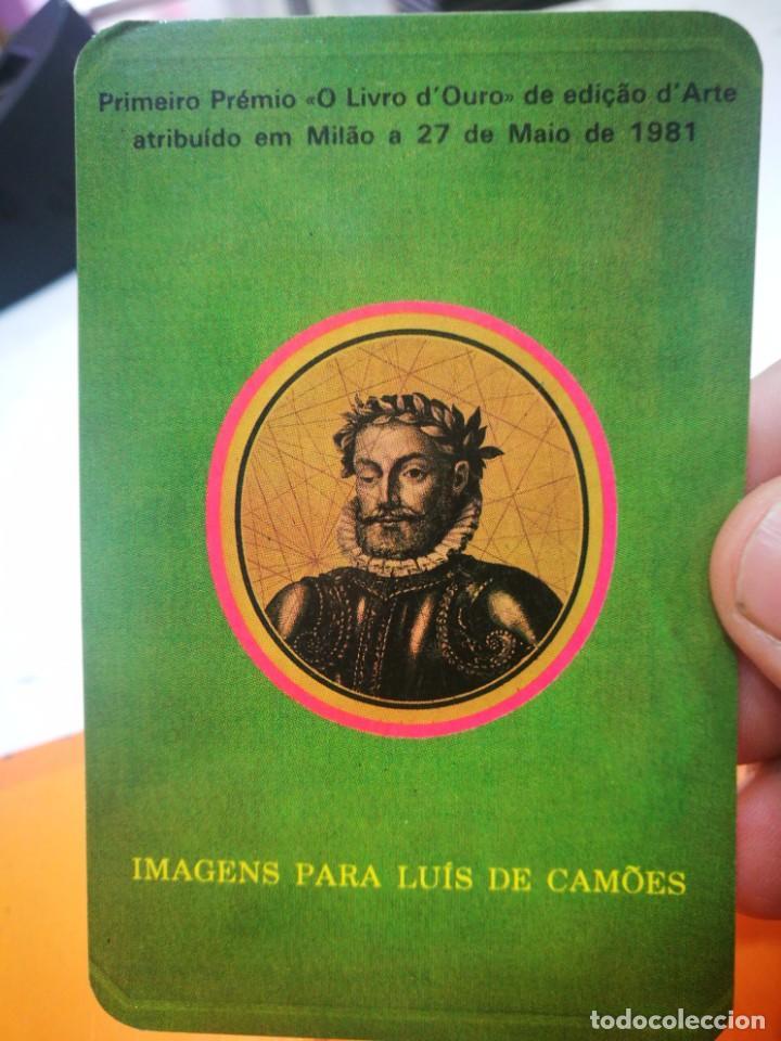 CALENDARIO IMAGENS PARA LUIS DE CAMOES 1984 (Coleccionismo - Calendarios)