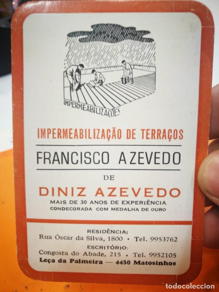 CALENDARIO FRANCISCO AZEVEDO DE DINIZ AZEVEDO 1984 (Coleccionismo - Calendarios)