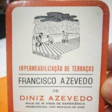Coleccionismo Calendarios: CALENDARIO FRANCISCO AZEVEDO DE DINIZ AZEVEDO 1984. Lote 168696064
