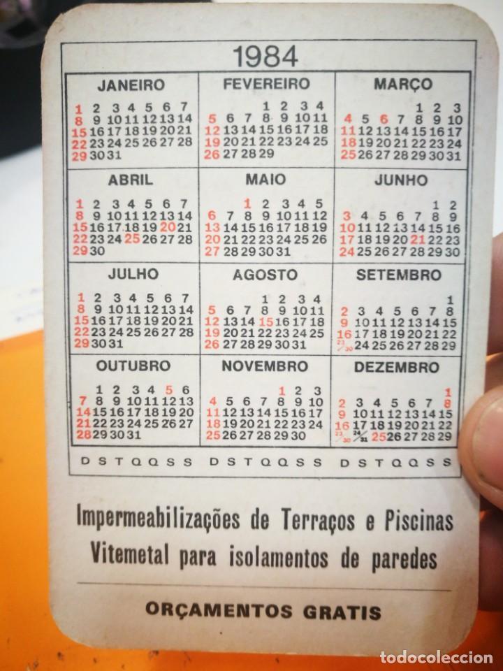 Coleccionismo Calendarios: Calendario FRANCISCO AZEVEDO DE DINIZ AZEVEDO 1984 - Foto 2 - 168696064
