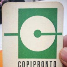 Coleccionismo Calendarios: CALENDARIO COPIPRONTO 1984. Lote 168696348