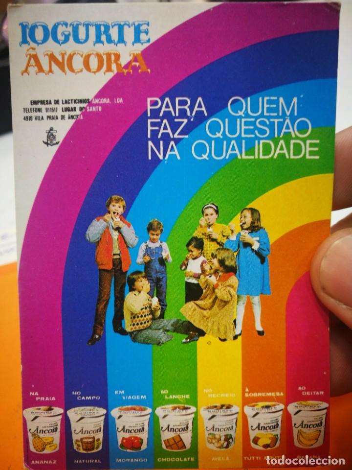CALENDARIO IOGURTE ANCORA 1984 (Coleccionismo - Calendarios)