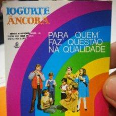 Coleccionismo Calendarios: CALENDARIO IOGURTE ANCORA 1984. Lote 168696596