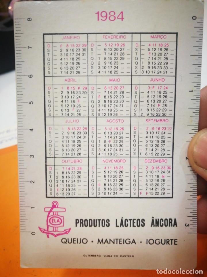 Coleccionismo Calendarios: Calendario IOGURTE ANCORA 1984 - Foto 2 - 168696596