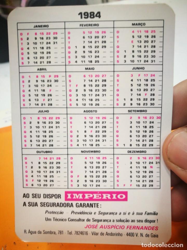 Coleccionismo Calendarios: Calendario IMPERIO ASEGURADORA 1984 - Foto 2 - 168696860