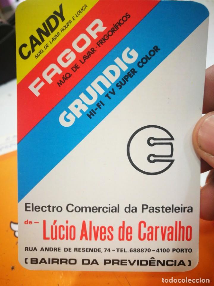 CALENDARIO CANDY FAGOR GRUNDIG LUCIO ALVES DE CARVALHO 1984 (Coleccionismo - Calendarios)