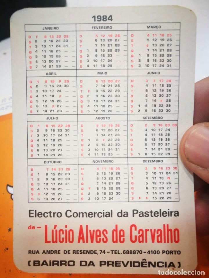 Coleccionismo Calendarios: Calendario CANDY FAGOR GRUNDIG LUCIO ALVES DE CARVALHO 1984 - Foto 2 - 168697056