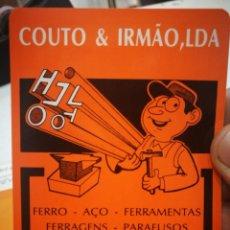 Coleccionismo Calendarios: CALENDARIO COUTO AND IRMAO LDA 1984. Lote 168697580