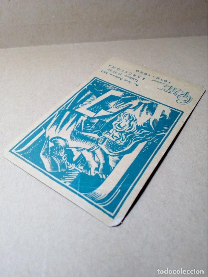 Coleccionismo Calendarios: CALENDARIO DE BOLSILLO - PAPELERÍA E IMPRENTA BAZAR RITZ - BARCELONA - (1959) - REF: 0022 - Foto 3 - 168747452