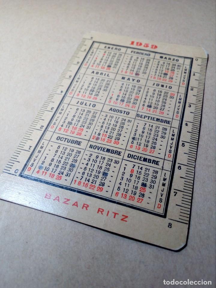 Coleccionismo Calendarios: CALENDARIO DE BOLSILLO - PAPELERÍA E IMPRENTA BAZAR RITZ - BARCELONA - (1959) - REF: 0022 - Foto 5 - 168747452