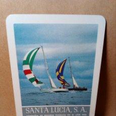 Coleccionismo Calendarios: CALENDARIO DE BOLSILLO - SEGUROS SANTA LUCÍA - BARCOS VELA - FOURNIER (1981) - REF: 0023. Lote 168862656