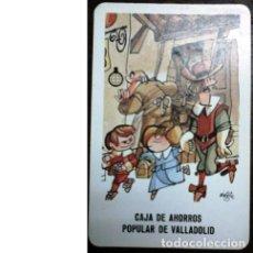 Coleccionismo Calendarios: CALENDARIO DH. FOURNIER 1987 CAJA DE AHORROS POPULAR VALLADOLID. MINGOTE . Lote 169324624