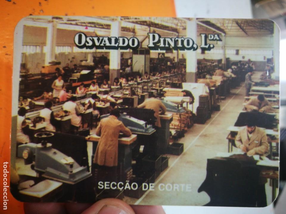 CALENDARIO OSVALDO PINTO LDA 1985 (Coleccionismo - Calendarios)