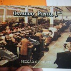 Coleccionismo Calendarios: CALENDARIO OSVALDO PINTO LDA 1985. Lote 168575212