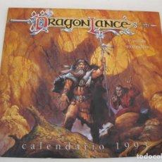 Coleccionismo Calendarios: DRAGON LANCE - CALENDARIO DE PARED PARA EL AÑO 1993.. Lote 169424228