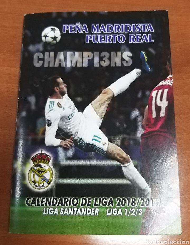 Calendario Real Madrid 2019.Calendario Liga 2018 2019 Liga Santander Futbol Pena Madridista Puerto Real Cadiz Real Madrid