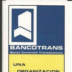 Coleccionismo Calendarios: CALENDARIO FOURNIER 1977 - BANCOTRANS (BANCO COMERCIAL TRANSATLÁNTICO) (IMPECABLE). Lote 169471572