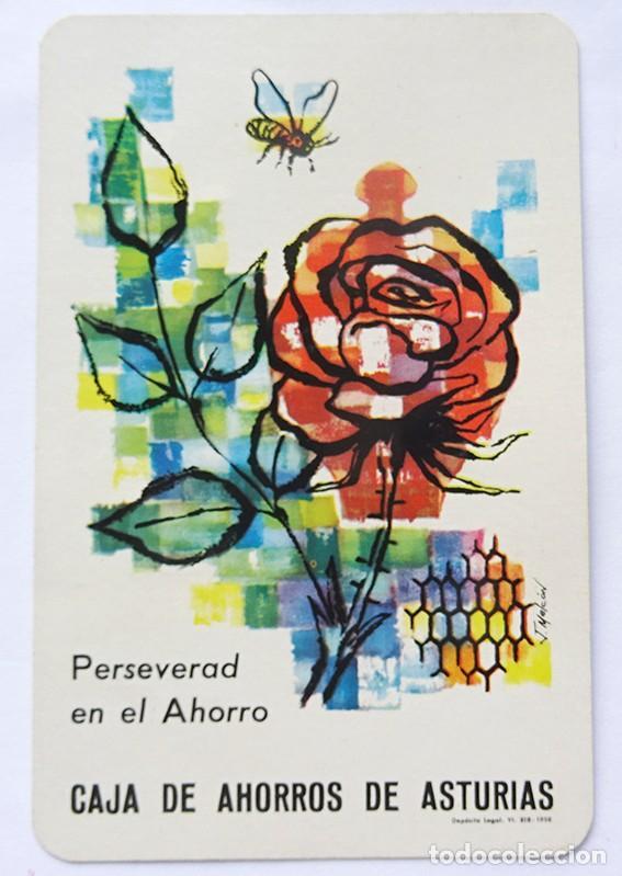 CALENDARIO FOURNIER, CAJA DE AHORROS DE ASTURIAS 1959 (Coleccionismo - Calendarios)