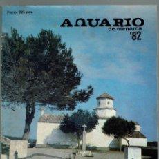 Coleccionismo Calendarios: ANUARIO DE MENORCA. AÑO 1982. (MENORCA.3.4). Lote 169661040