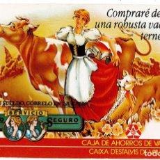 Coleccionismo Calendarios: CALENDARIO FOURNIER - CAJA DE AHORROS DE VALENCIA 1984. Lote 169851012