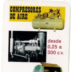 Coleccionismo Calendarios: CALENDARIO FOURNIER - ABC CREPELLE - AÑO 1968 COMPRESORES DE AIRE. Lote 169851908