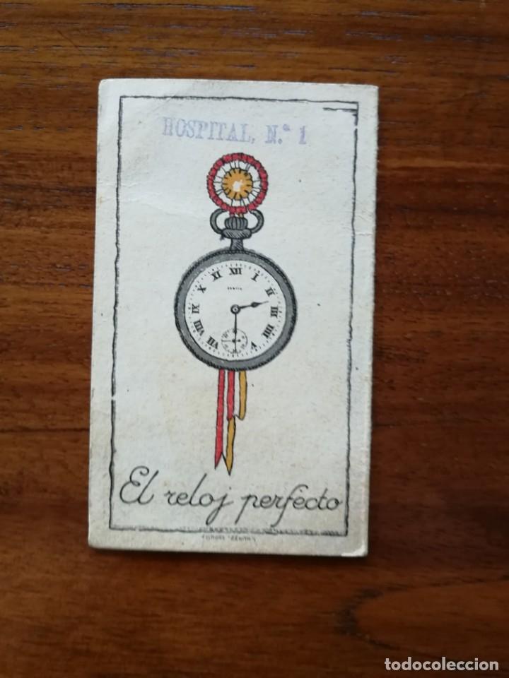Coleccionismo Calendarios: Reloj Zenith - Calendario Almanaque de bolsillo de 1919 - El Reloj Perfecto - Foto 2 - 169963308
