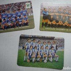 Coleccionismo Calendarios: LOTE CALENDARIOS EXTRANJEROS FUTBOL 1985. Lote 169991432