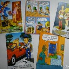 Coleccionismo Calendarios: LOTE CALENDARIOS CHISTES 2009. Lote 169991740