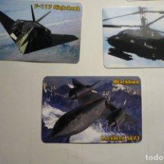 Coleccionismo Calendarios: LOTE CALENDARIOS EXTRANJEROS AVIONES 2008. Lote 170013800