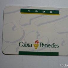 Coleccionismo Calendarios: CALENDARIO CAIXA PENEDES .-CATALAN 1996. Lote 170060576