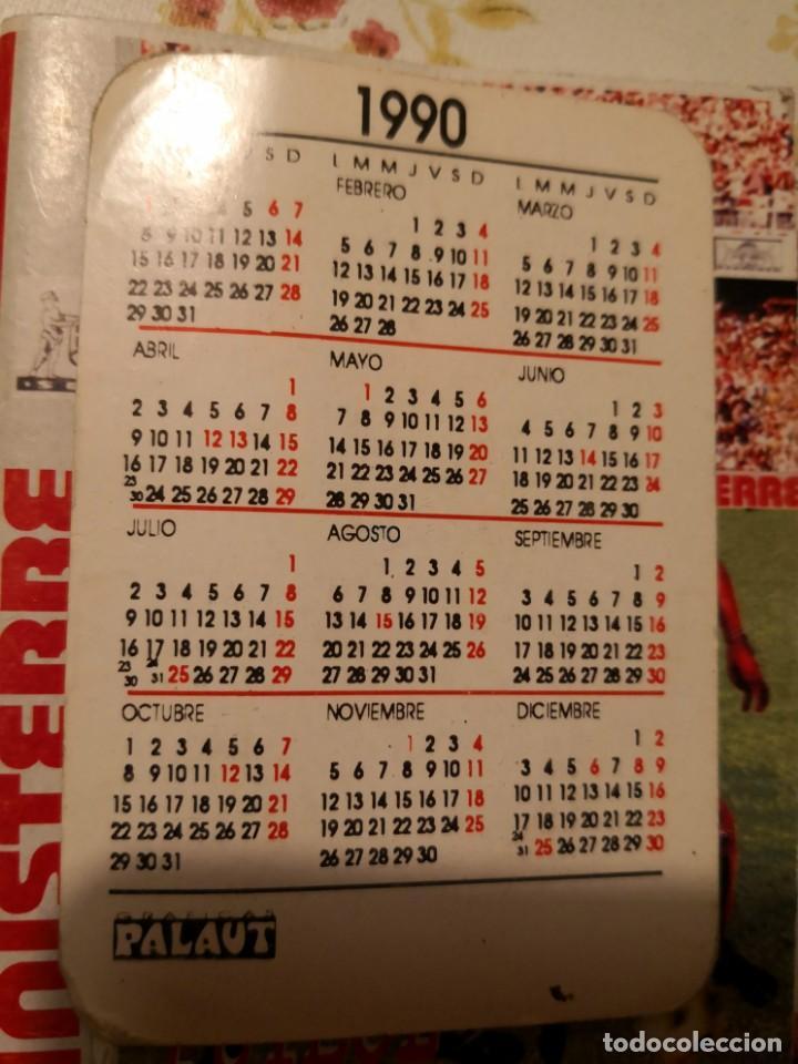 Coleccionismo Calendarios: CALENDARIO jugador ROMMEL FERNÁNDEZ. FIRMADO Y DEDICADO MAS CALENDARIO DE PARTIDOS TEMPORADA 99/2000 - Foto 2 - 170135044