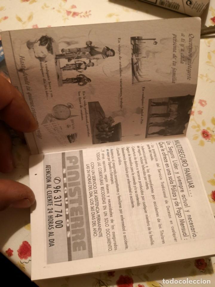 Coleccionismo Calendarios: CALENDARIO jugador ROMMEL FERNÁNDEZ. FIRMADO Y DEDICADO MAS CALENDARIO DE PARTIDOS TEMPORADA 99/2000 - Foto 3 - 170135044