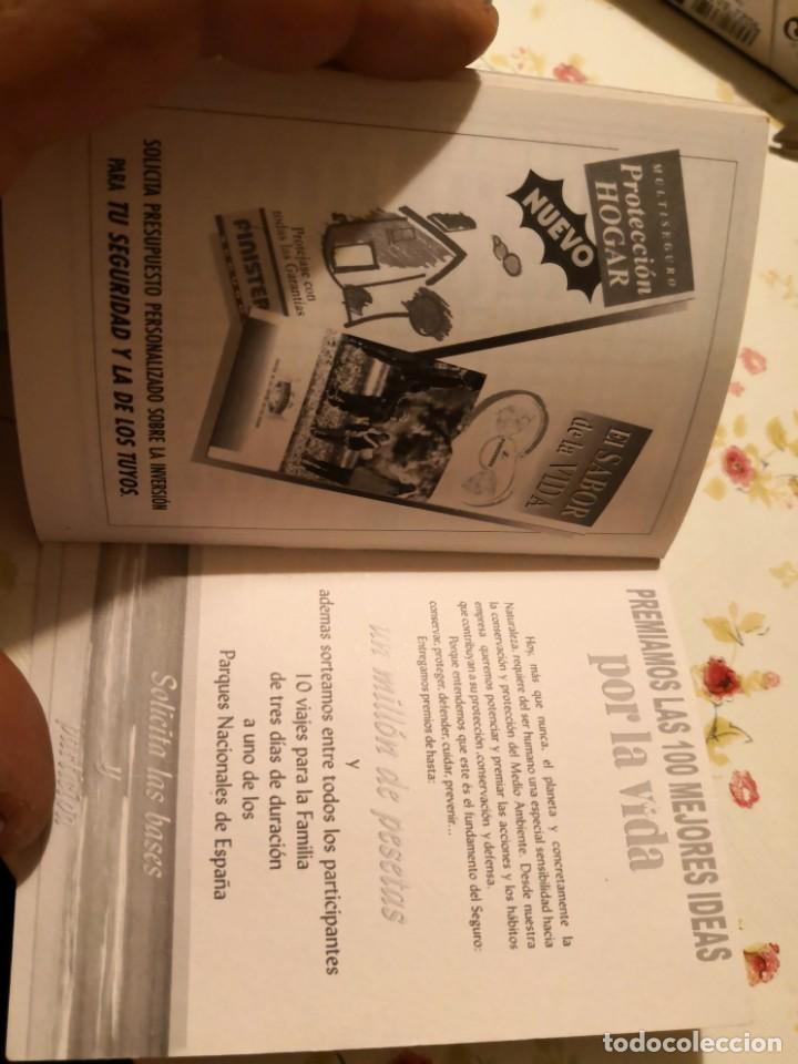 Coleccionismo Calendarios: CALENDARIO jugador ROMMEL FERNÁNDEZ. FIRMADO Y DEDICADO MAS CALENDARIO DE PARTIDOS TEMPORADA 99/2000 - Foto 4 - 170135044
