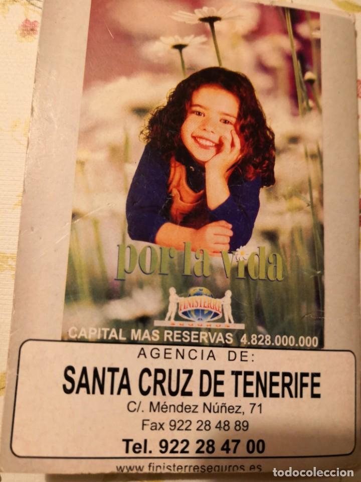 Coleccionismo Calendarios: CALENDARIO jugador ROMMEL FERNÁNDEZ. FIRMADO Y DEDICADO MAS CALENDARIO DE PARTIDOS TEMPORADA 99/2000 - Foto 7 - 170135044