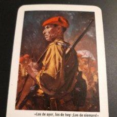 Coleccionismo Calendarios: 1 CALENDARIO DE H. FOURNIER DE ** POR DIOS. LA PATRIA Y EL REY ** .¡¡¡ AÑO 1960 !!!!. Lote 170359408