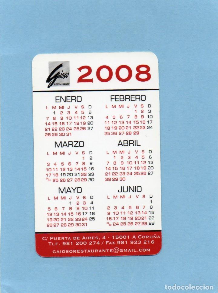 Calendario 216.Calendario De Publicidad 2008 Gaioso Taberna