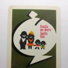 Coleccionismo Calendarios: CALENDARIO FOURNIER DE 1965, CAJA DE AHORROS SAGRADA FAMILIA, SUCURSAL VIA LAYETANA - URQUINAONA.. Lote 170401760