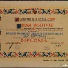 Coleccionismo Calendarios: AÑO 1960. CALENDARIO FOURNIER DE BRIAM INSTITUTE.. Lote 170224268