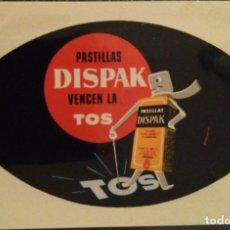 Coleccionismo Calendarios: AÑO 1960. CALENDARIO FOURNIER DE DISPAK.. Lote 170460628