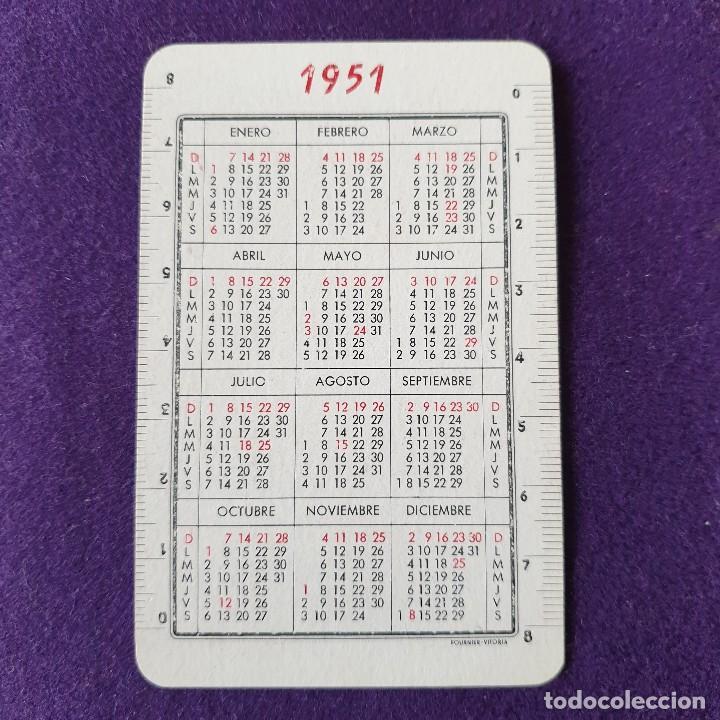 Coleccionismo Calendarios: CALENDARIO FOURNIER. BANTU. 1951. - Foto 2 - 170705620