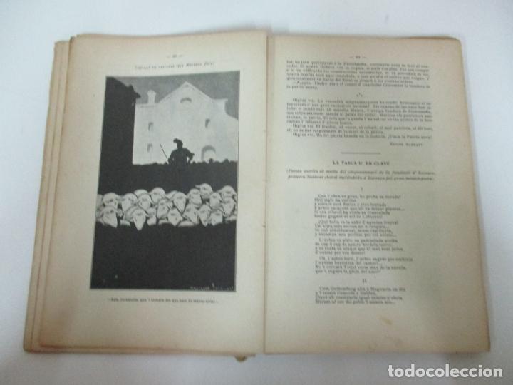 Coleccionismo Calendarios: La Esquella de la Torratxa, Almanach 1908 - Antoni Lopez - Ed Llibería Espanyola - Foto 4 - 170854145