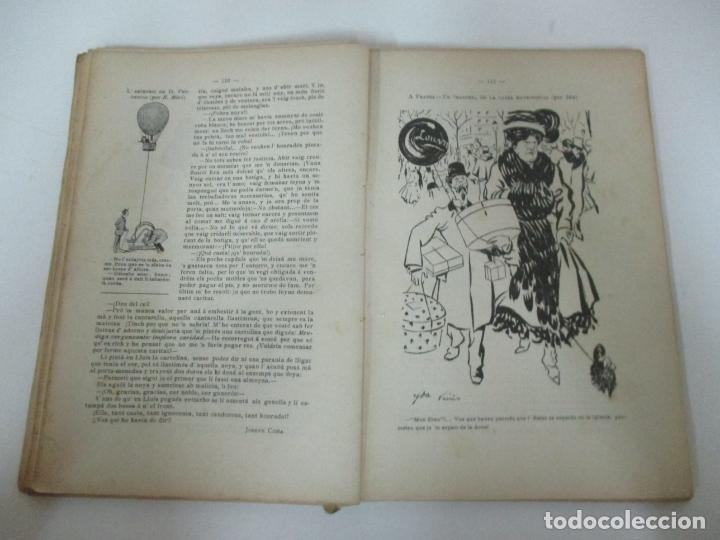 Coleccionismo Calendarios: La Esquella de la Torratxa, Almanach 1908 - Antoni Lopez - Ed Llibería Espanyola - Foto 5 - 170854145