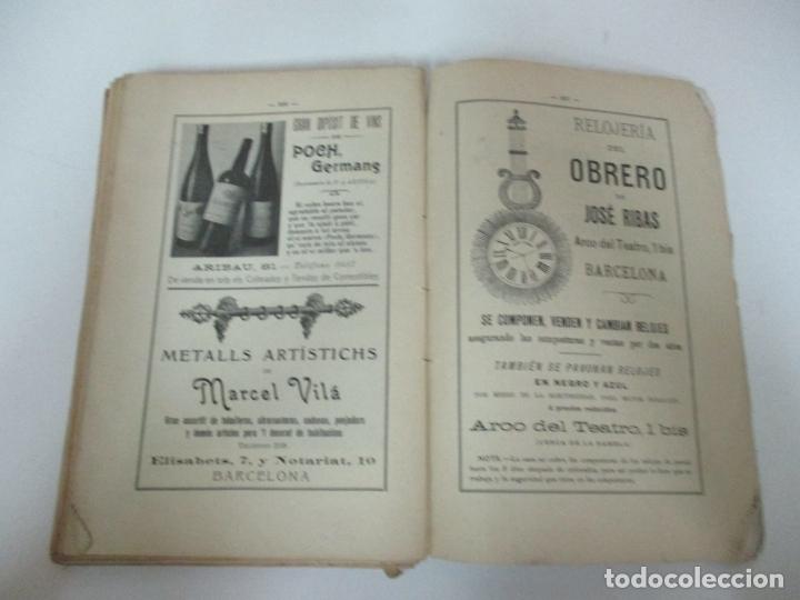 Coleccionismo Calendarios: La Esquella de la Torratxa, Almanach 1908 - Antoni Lopez - Ed Llibería Espanyola - Foto 7 - 170854145
