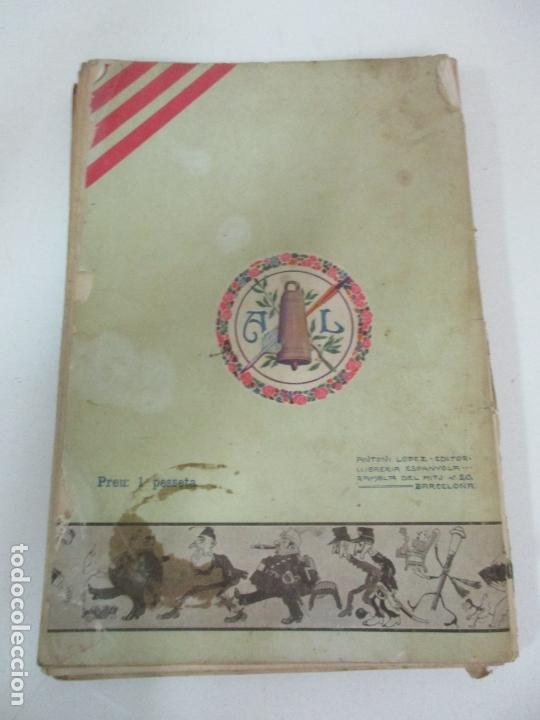 Coleccionismo Calendarios: La Esquella de la Torratxa, Almanach 1908 - Antoni Lopez - Ed Llibería Espanyola - Foto 9 - 170854145