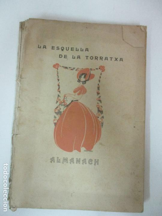 LA ESQUELLA DE LA TORRATXA, ALMANACH 1908 - ANTONI LOPEZ - ED LLIBERÍA ESPANYOLA (Coleccionismo - Calendarios)
